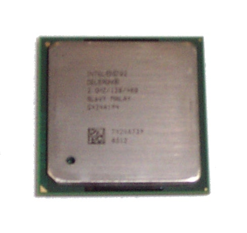 Intel Celeron SL6VY 2GHz  400MHz FSB 128KB L2 Socket 478 Processor