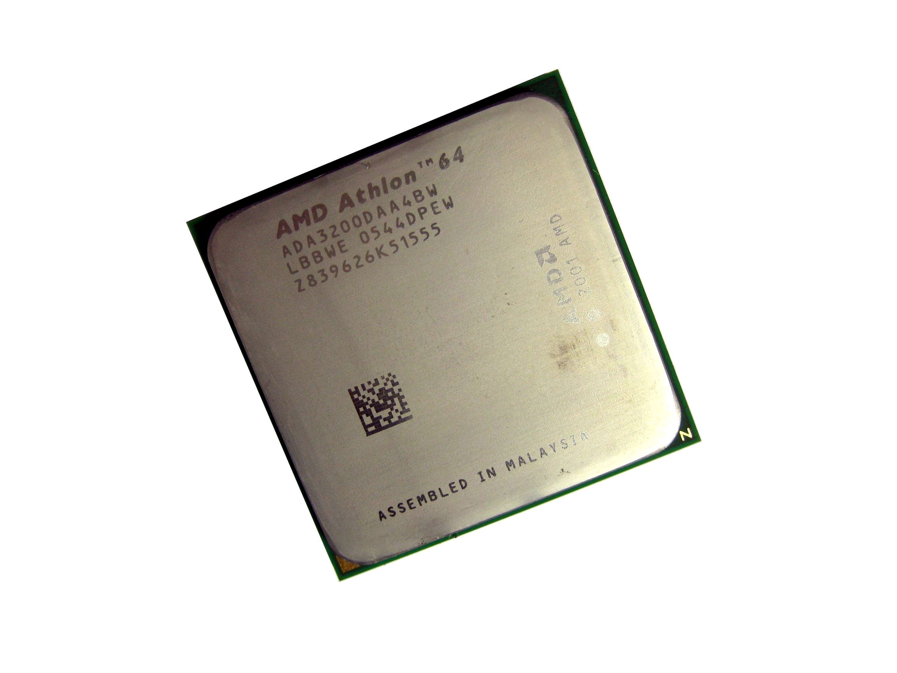 AMD ADA3200DAA4BW Athlon 64 3200+(2.0GHz)L2/512KB Socket 939 Processor