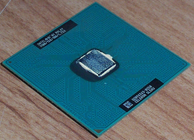 Intel SL5XU Celeron 1100MHz Socket 370 Processor