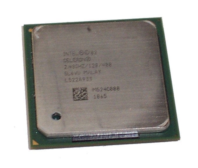 Intel SL6VU Celeron 2.4GHz 128KB Cache 400MHz FSB Socket 478 Processor