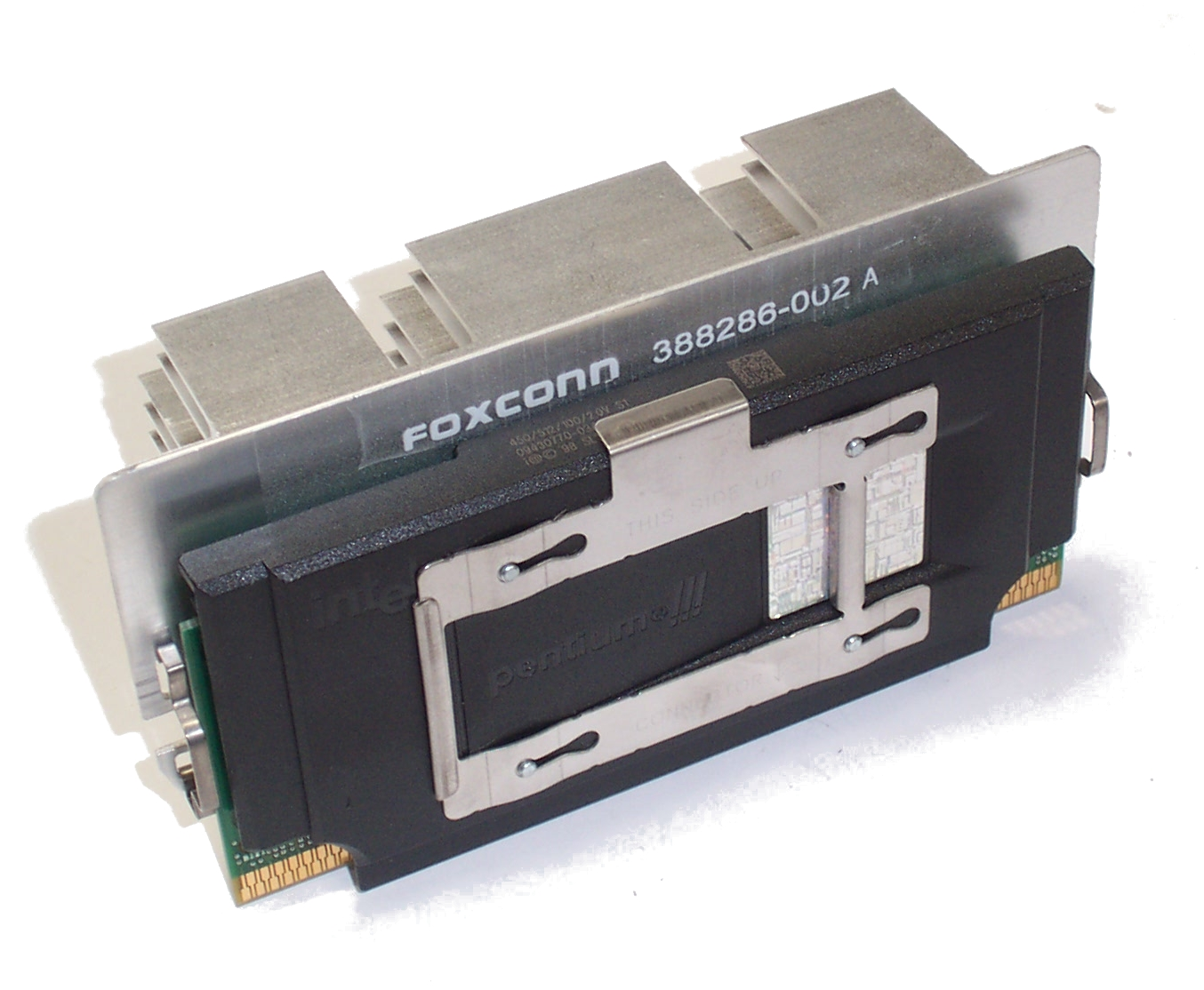 Intel SL35D Pentium 3 450MHz Slot 1 Processor with HP 388286-002 Heatsink