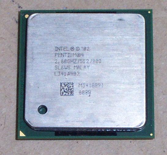 Intel SL6WS Pentium 4 2.6GHz 800Mhz 512KB Socket 478 Processor