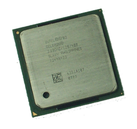 Intel SL6VV Celeron 2.6GHz Socket 478 Processor - 400MHz FSB, 128KB L2 Cache