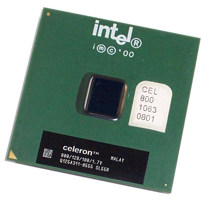 Intel SL55R Celeron 800 MHz 128K Cache 100 MHz FSB Socket 370 Processor