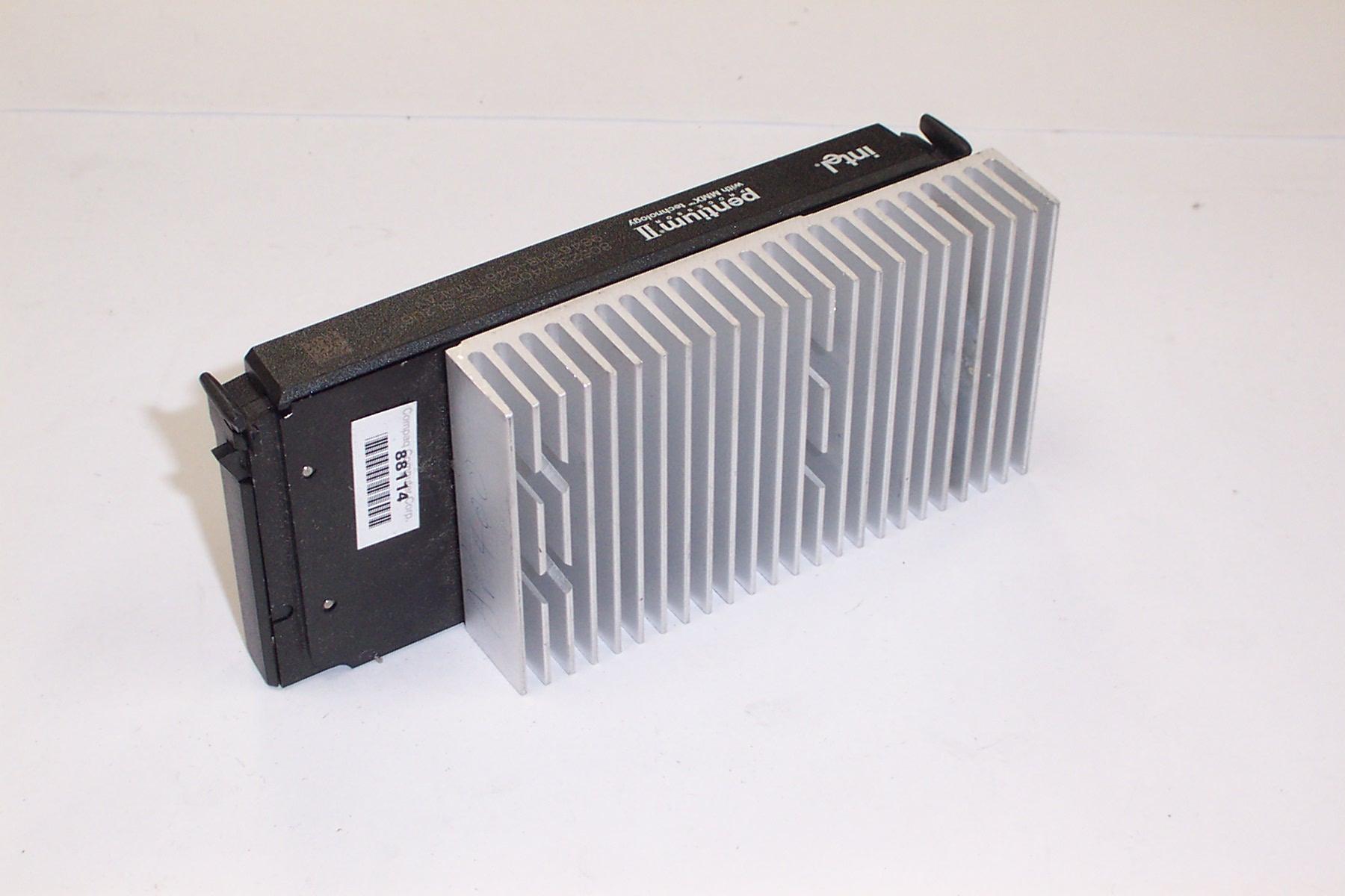 Intel  SL2U6 Pentium 2 400MHz with Compaq 317725-001 Heatsink