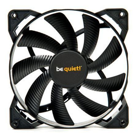 Be Quiet! BL047 Pure Wings 2 14cm Case Fan, Rifle Bearing, Black, Ultra Quiet