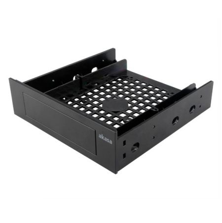 """Akasa Front Bay 3.5"""" Device Adapter, Frame to Fit 3.5"""" device/SSD/HDD into a 5.2"""