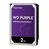 "WD 3.5"", 2TB, SATA3, Purple Surveillance Hard Drive, 5400RPM, 64MB Cache"