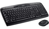 Logitech MK330 Wireless Keyboard and Mouse Desktop Kit, USB
