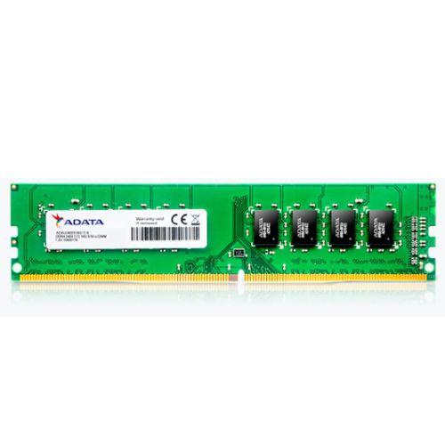 ADATA Premier, 4GB, DDR4, 2400MHz (PC4-19200), CL17, DIMM Memory, 512x16