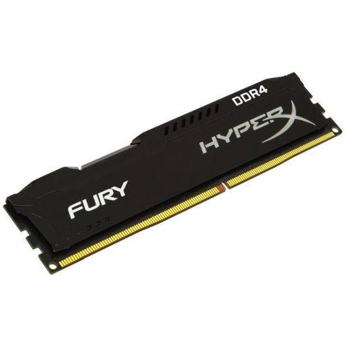 HyperX Fury Black 4GB, DDR4, 2400MHz (PC4-19200), CL15, 1.2V, XMP 2.0, DIMM Memo