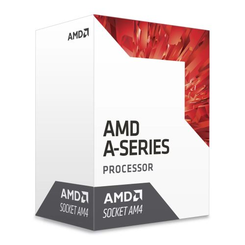 AMD A8 X4 9600 CPU, AM4, 3.1GHz (3.4 Turbo), Quad Core, 65W, 2MB Cache, 28nm, Br