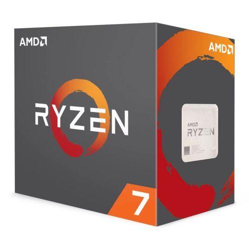 AMD Ryzen 7 3700X CPU with Wraith Prism RGB Cooler, 8-Core, AM4, 3.6GHz (4.4 Tur