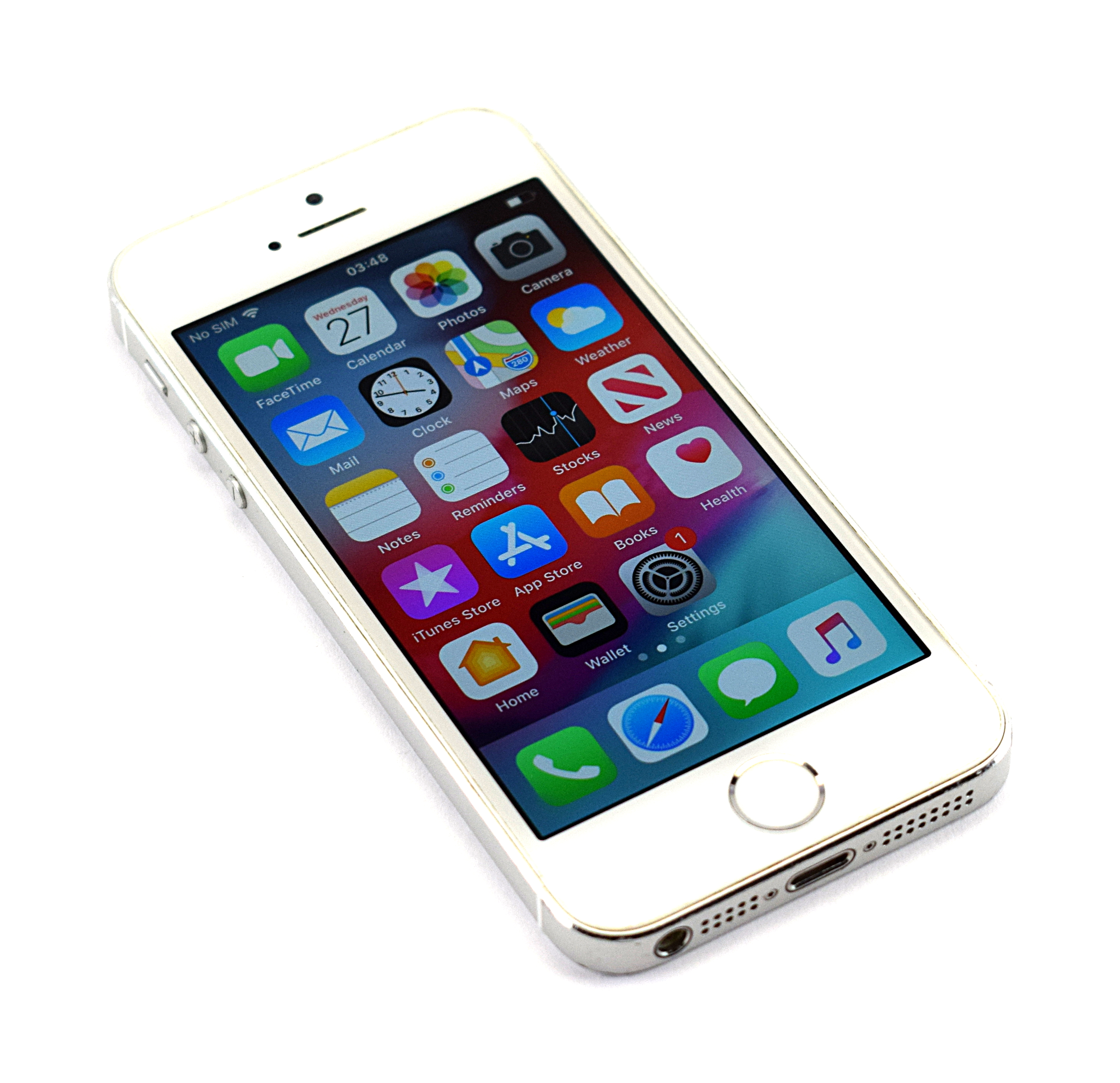 Apple A1457 iPhone 5S 16GB / Vodafone / Silver / Refurbished