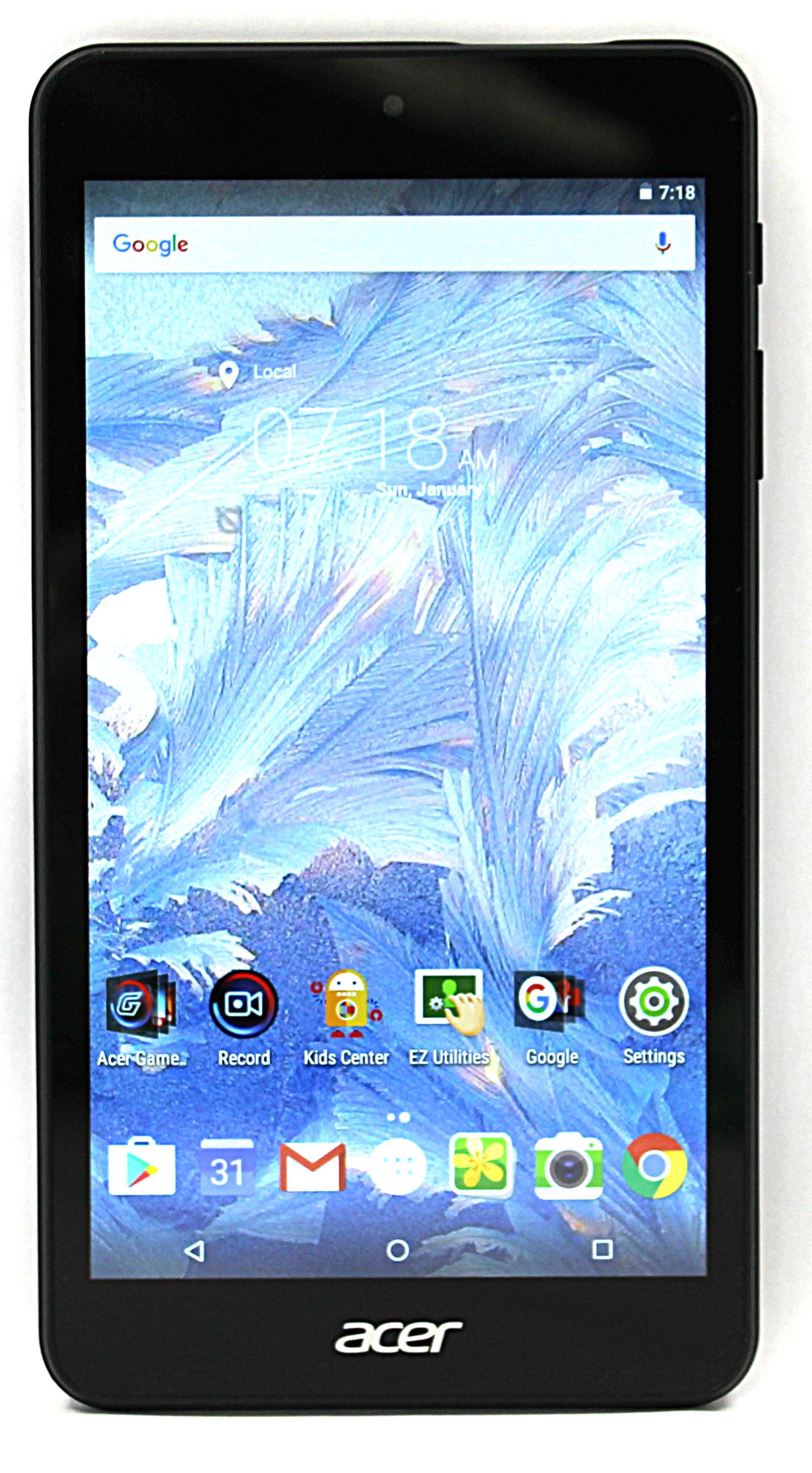 "Acer Iconia One 7"" 16GB Tablet Model: B1-790 - WiFi - Black - Refurbished"