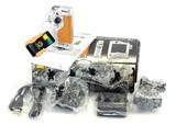 Nikon KeyMission 80 Digital Action Camera With Box & Accessories - Silver