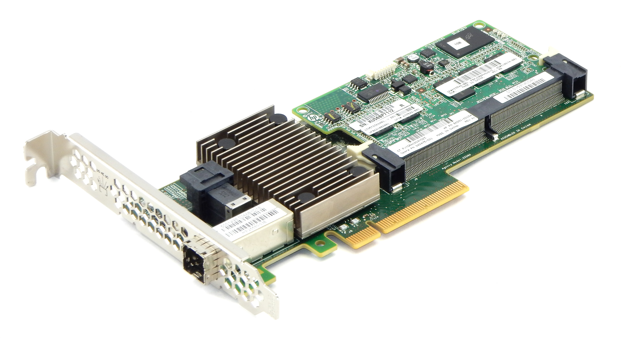 Hp 842475-001 Pca 4e/4i PCI-e X8 Network Card f/ HP StoreOnce 2700 w/ 633542-001