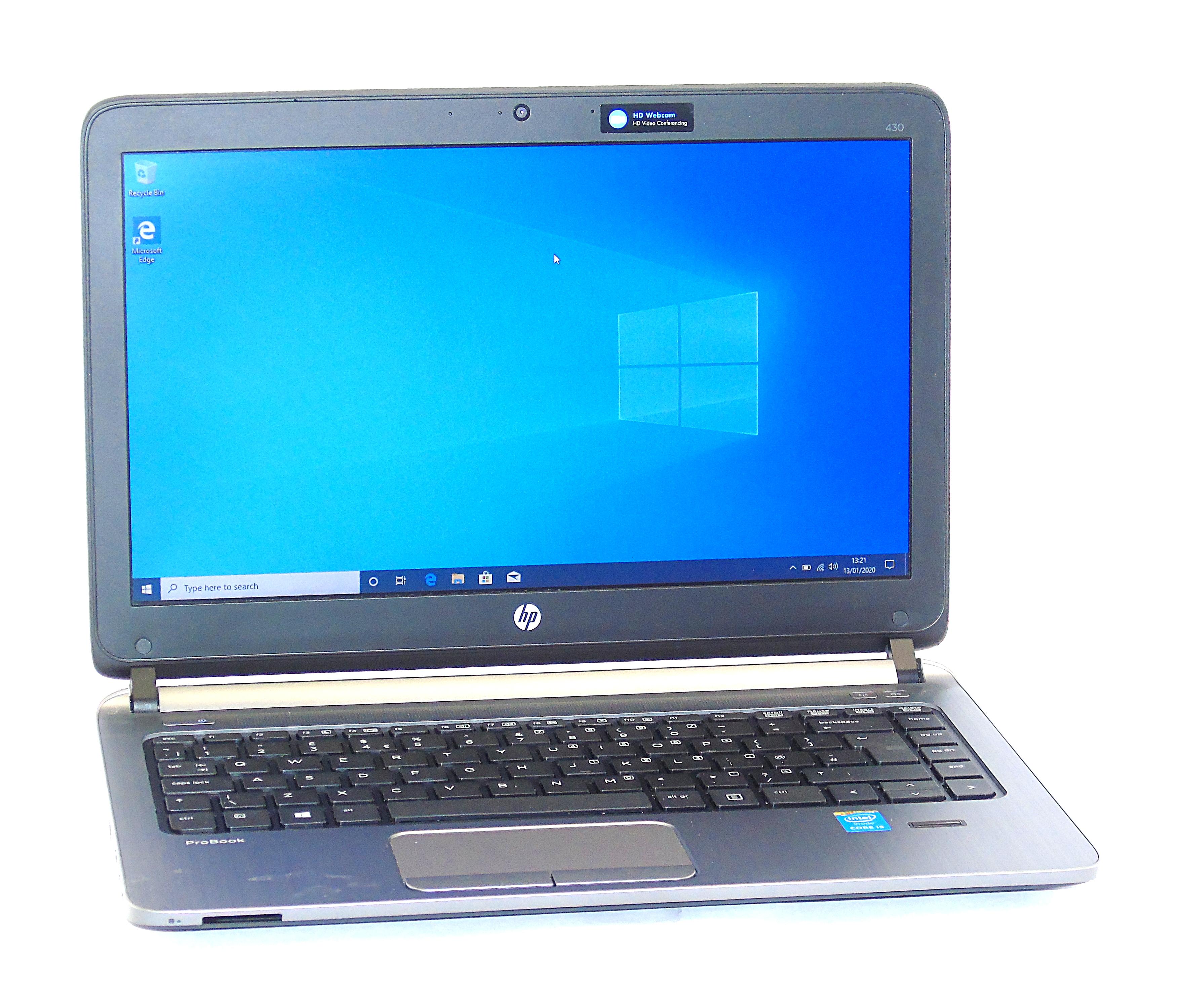 """HP ProBook 430 G2 Core i5-5200U 8GB RAM 256GB SSD 13.3"""" Display Windows 10"""