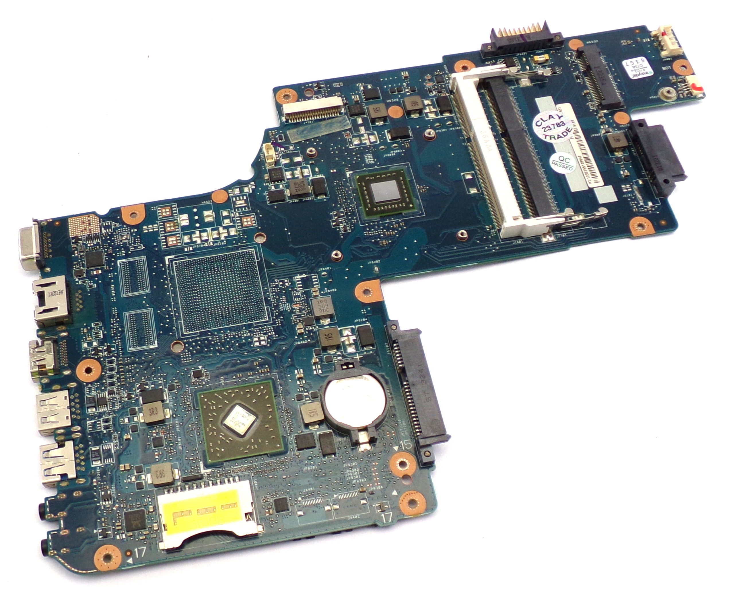 H000062150 Toshiba Satellite C50 with AMD E1-1200 HD Motherboard
