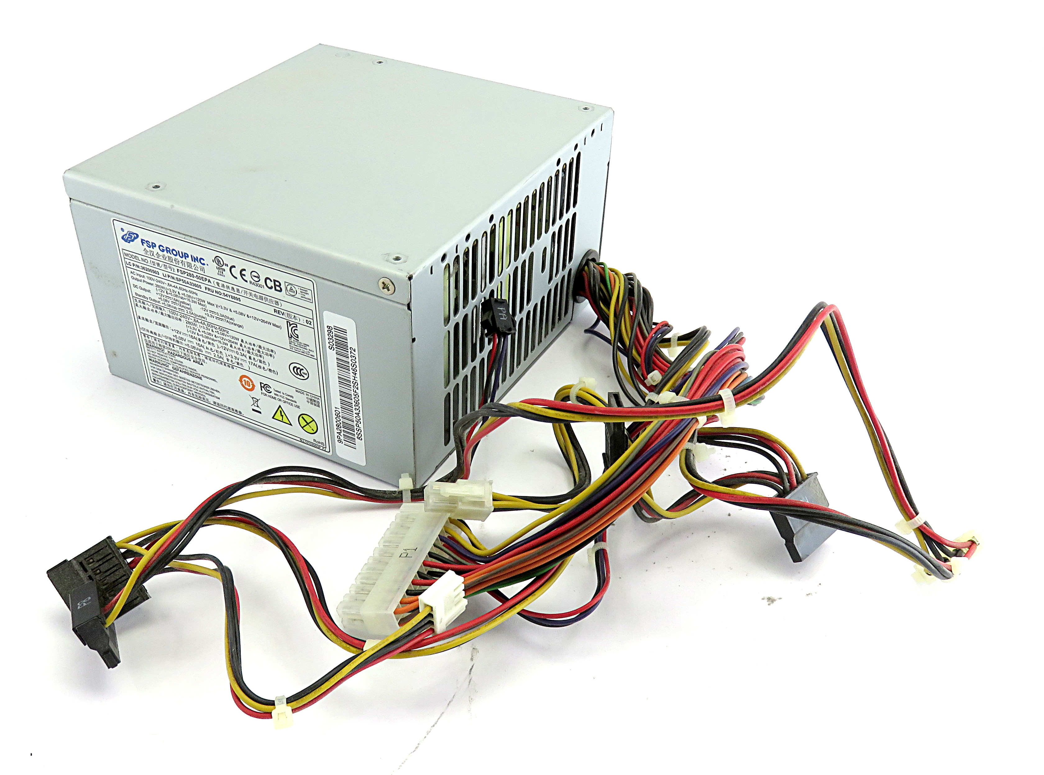 Lenovo 54Y8895 FSP280-50EPA 24-Pin ATX Power Supply f/ Erazer X310 PC