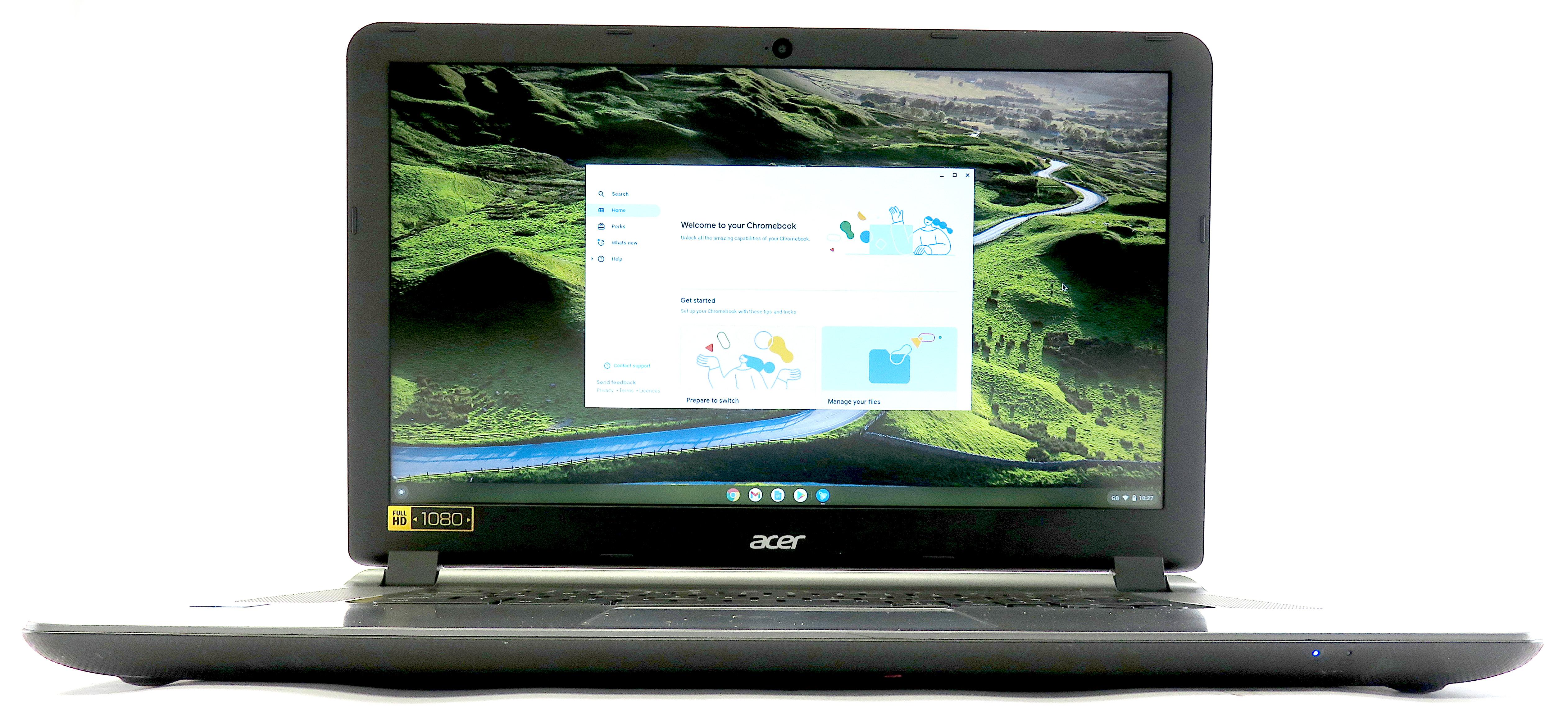 """Acer Chromebook CB3-532 - Celeron N3160, 4GB RAM, 32GB eMMC, 15.6"""" - Grey"""