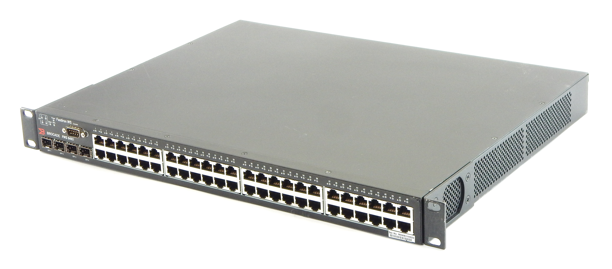 Brocade FWS648G FastIron WS Managed 48 Ports Ethernet Gigabit Switch