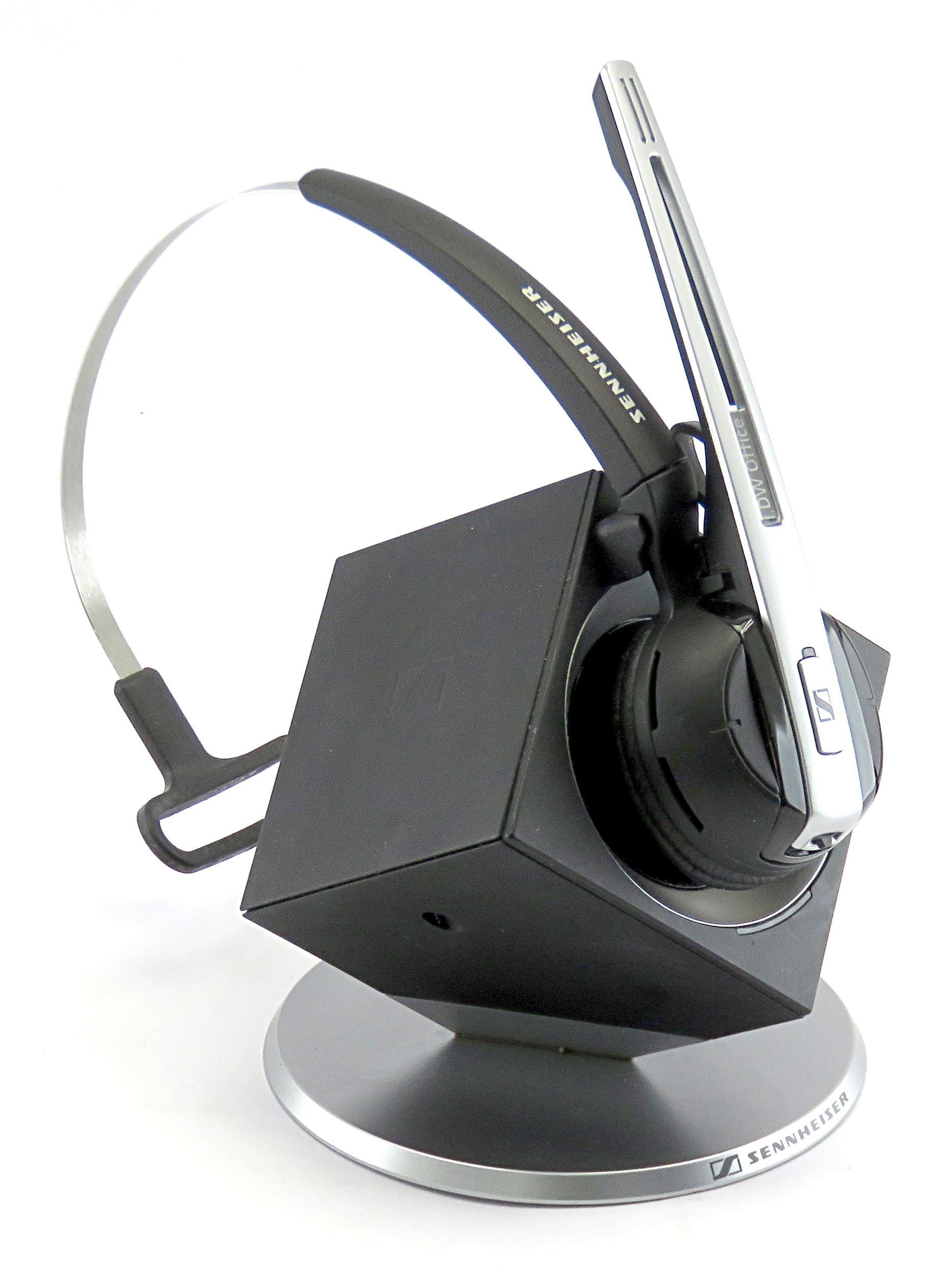 Sennheiser DW Office DECT Telephony Wireless Headset System, No PSU