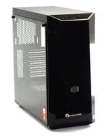 Cooler Master Computer Case w/ Tempered Glass Panel & RGB Front Fans