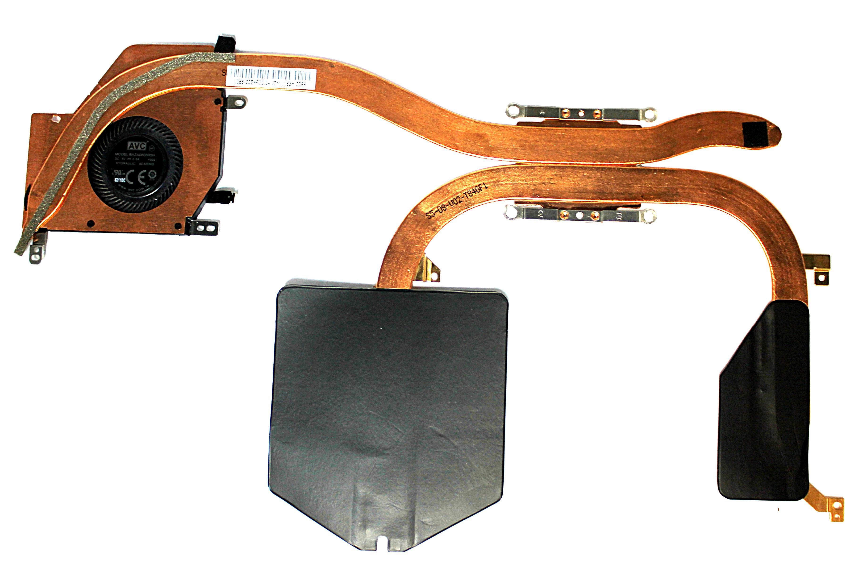 Microsoft Surface Pro 1796 i7 Cooling Heatsink  & Fan BAZA0603R5H