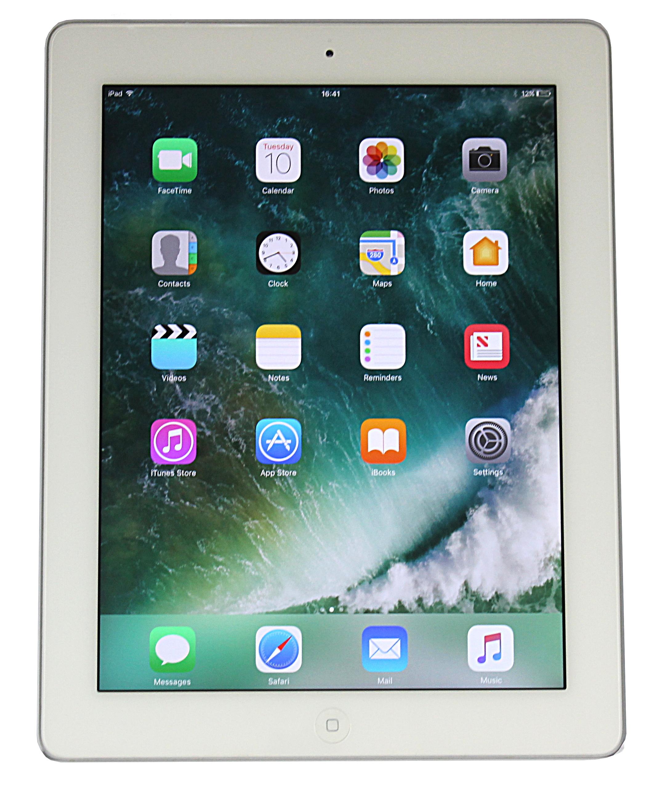 White / Refurbished//Apple iPad 4 A1458 - 16GB / WiFi ...