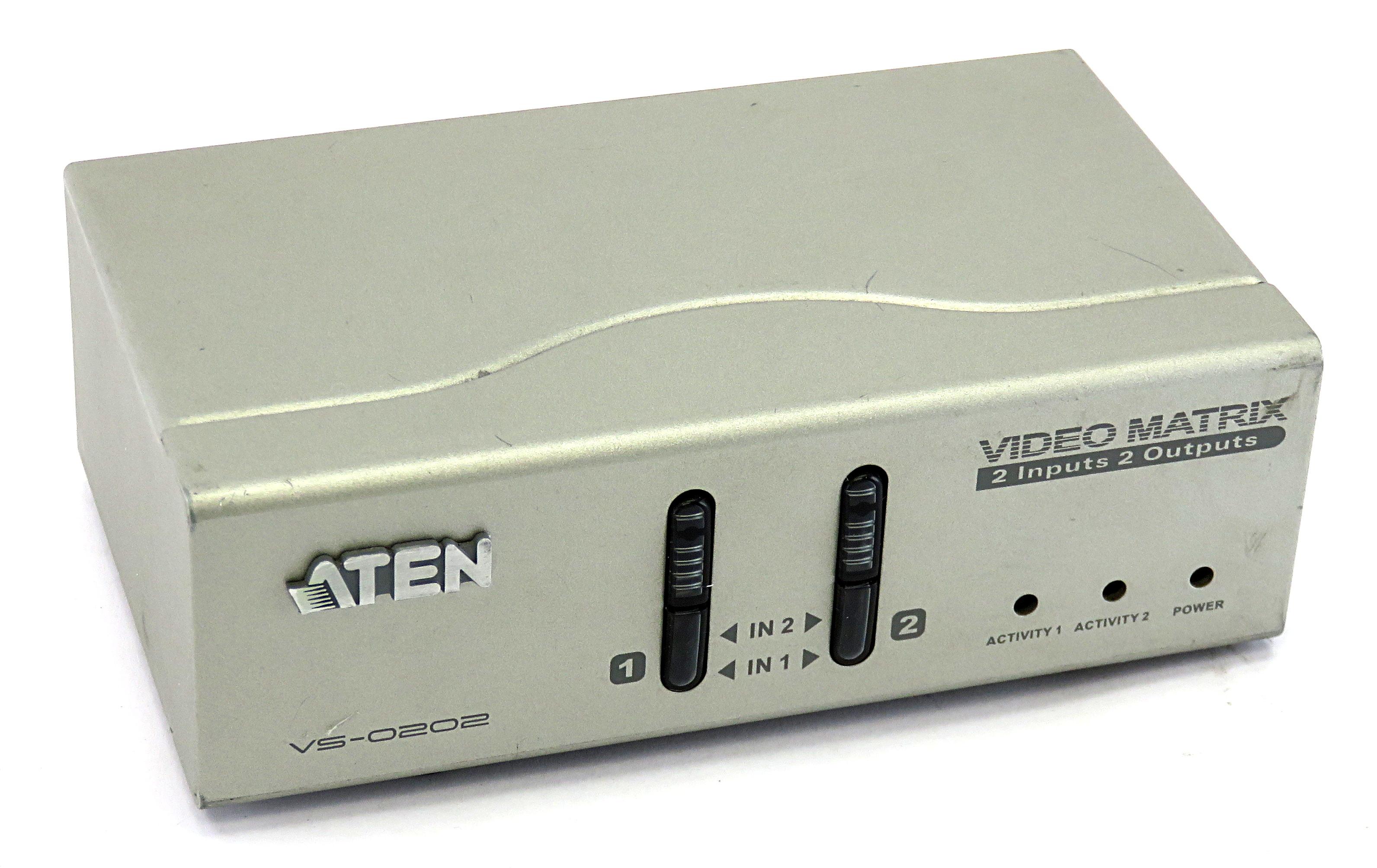 Aten VS-0202 2x2 VGA/Audio Matrix Switch
