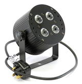 Prolight LEDJ Colour Blast LEDJ02 4x3W Tri-Colour LED 3/6-Channel DMX Light