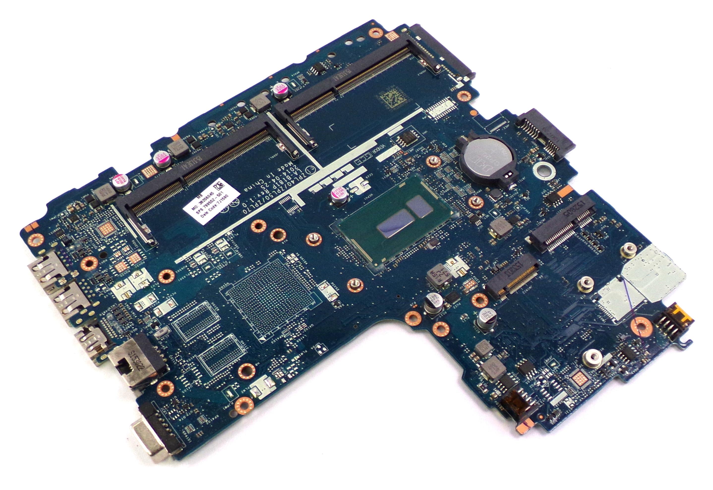799552-501 HP ProBook 450 with Intel Core i5-5200U Laptop Motherboard