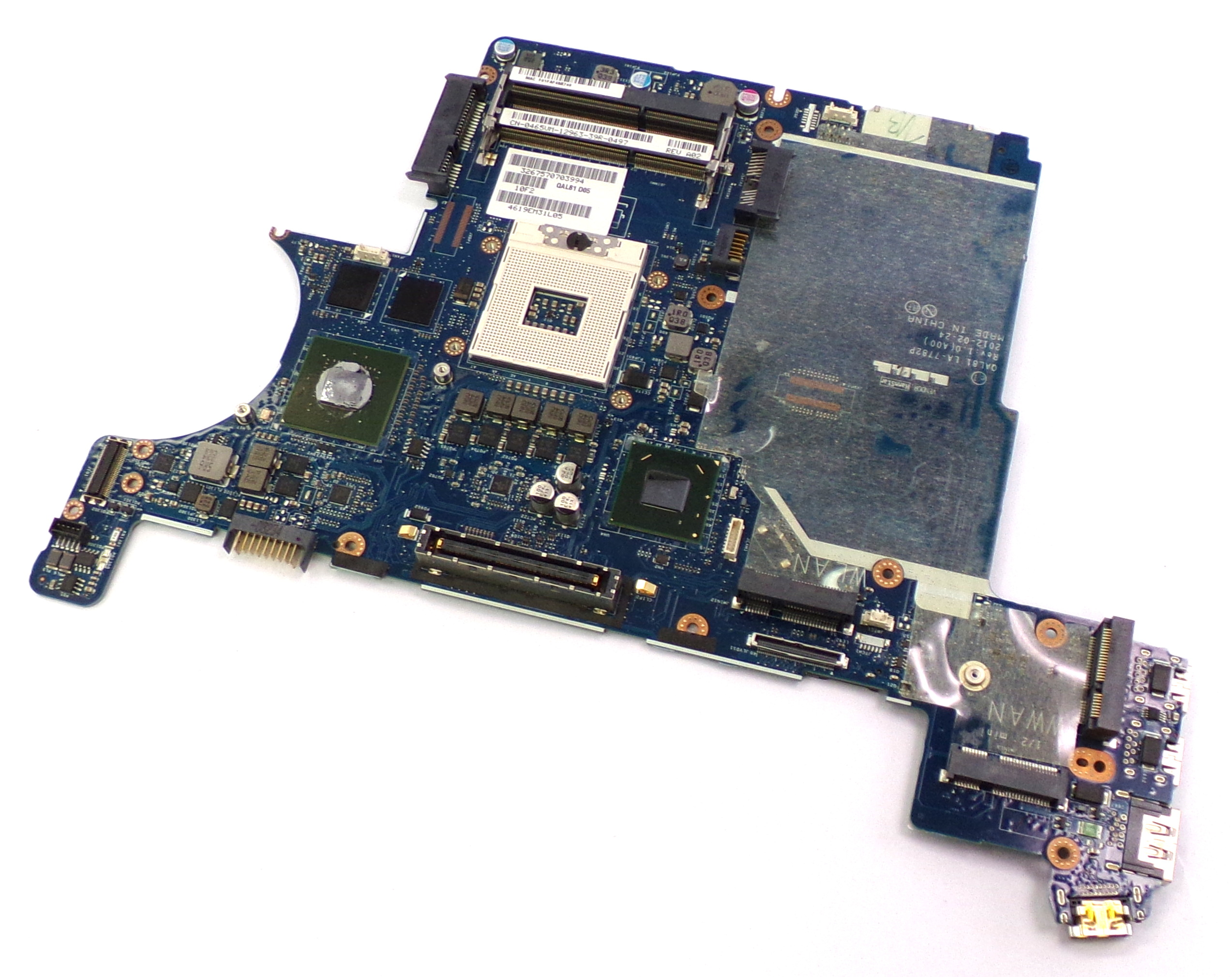 Dell 465VM Latitude E6430 Socket rPGA-989 Laptop Motherboard