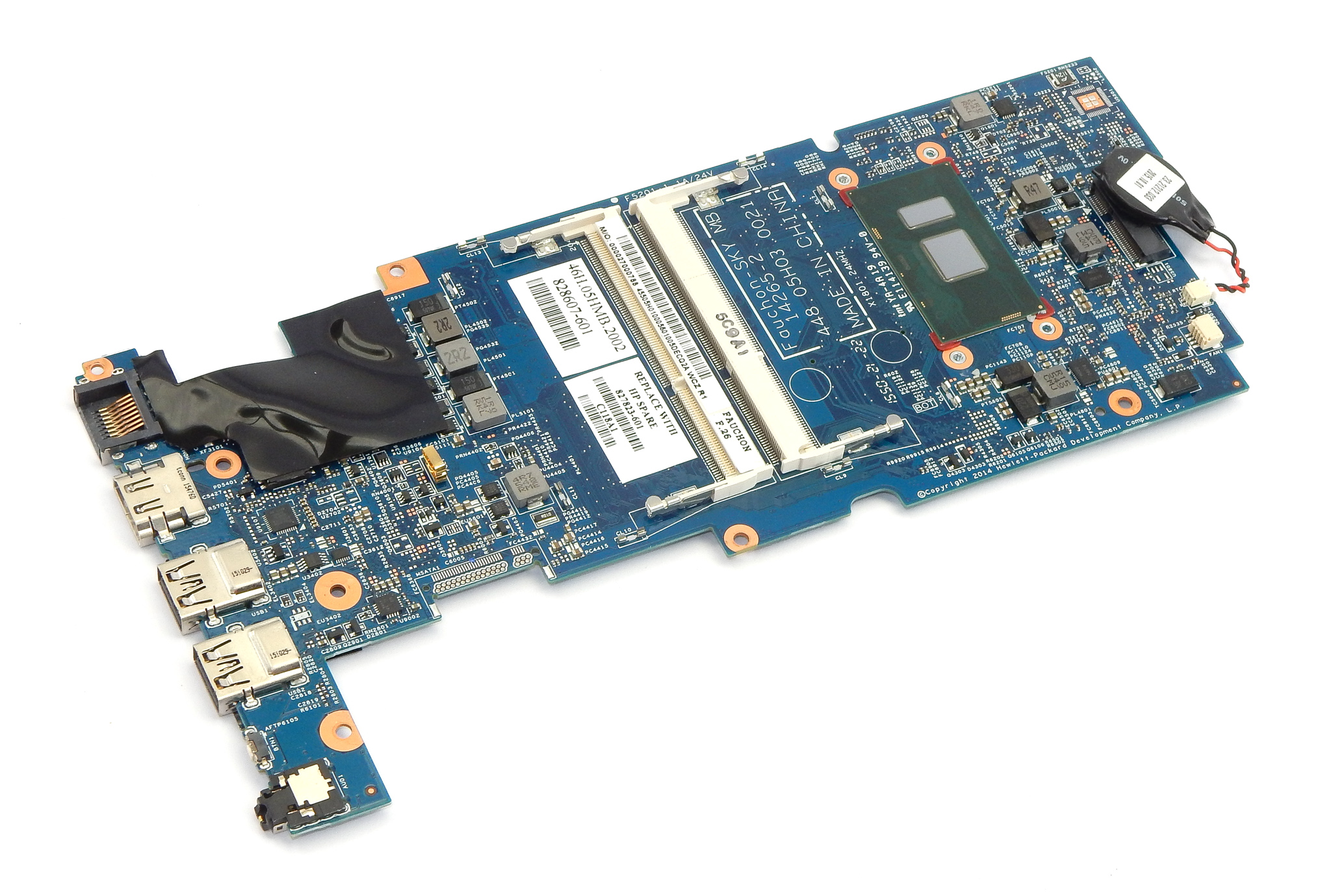 827823-601 HP x360 13-S with Intel Core i5-6200U Motherboard - 455.05H01.0005