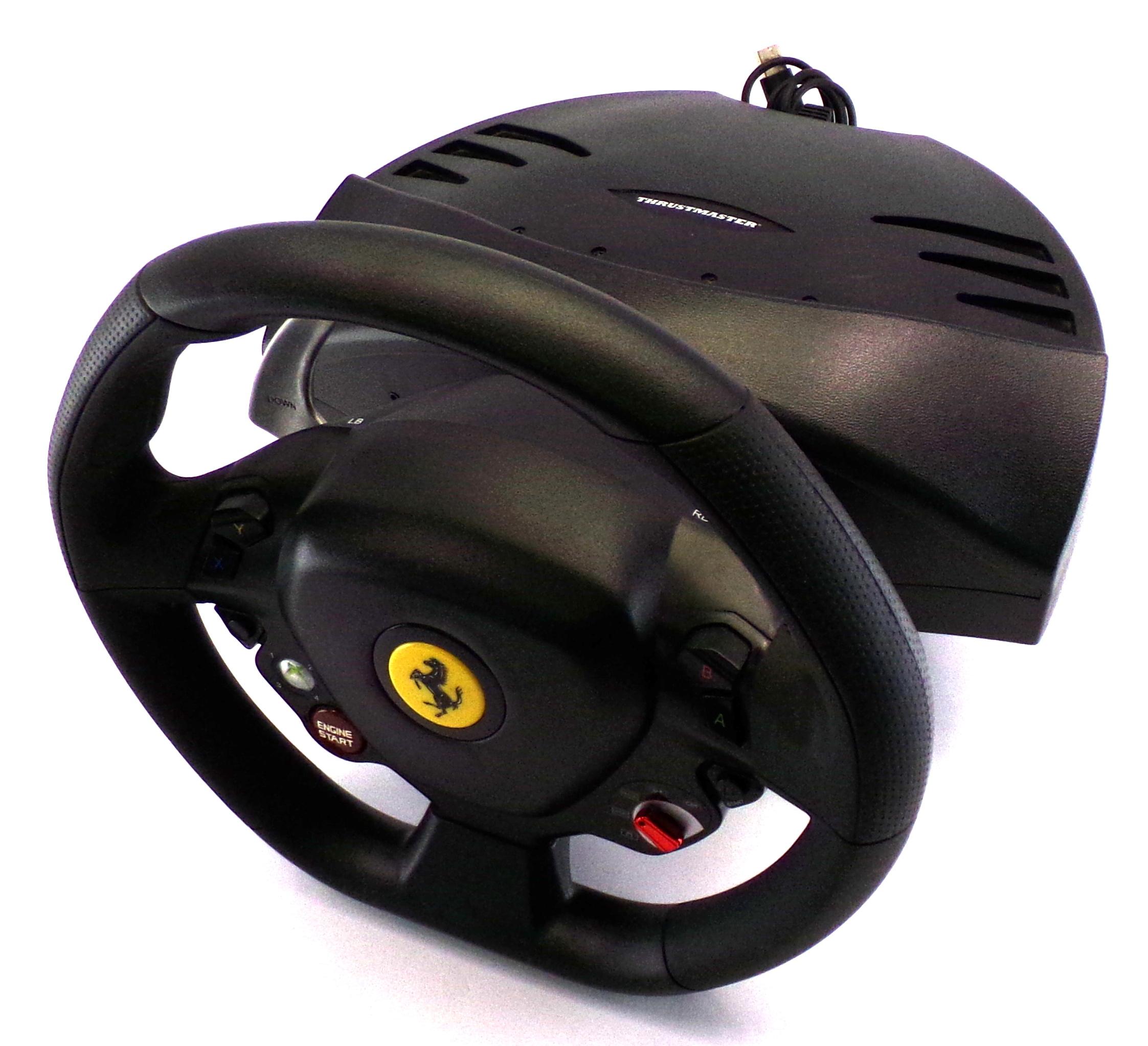 Thrustmaster Ferrari 458 RW Xbox 360 V.4 Steering Wheel - No Pedals