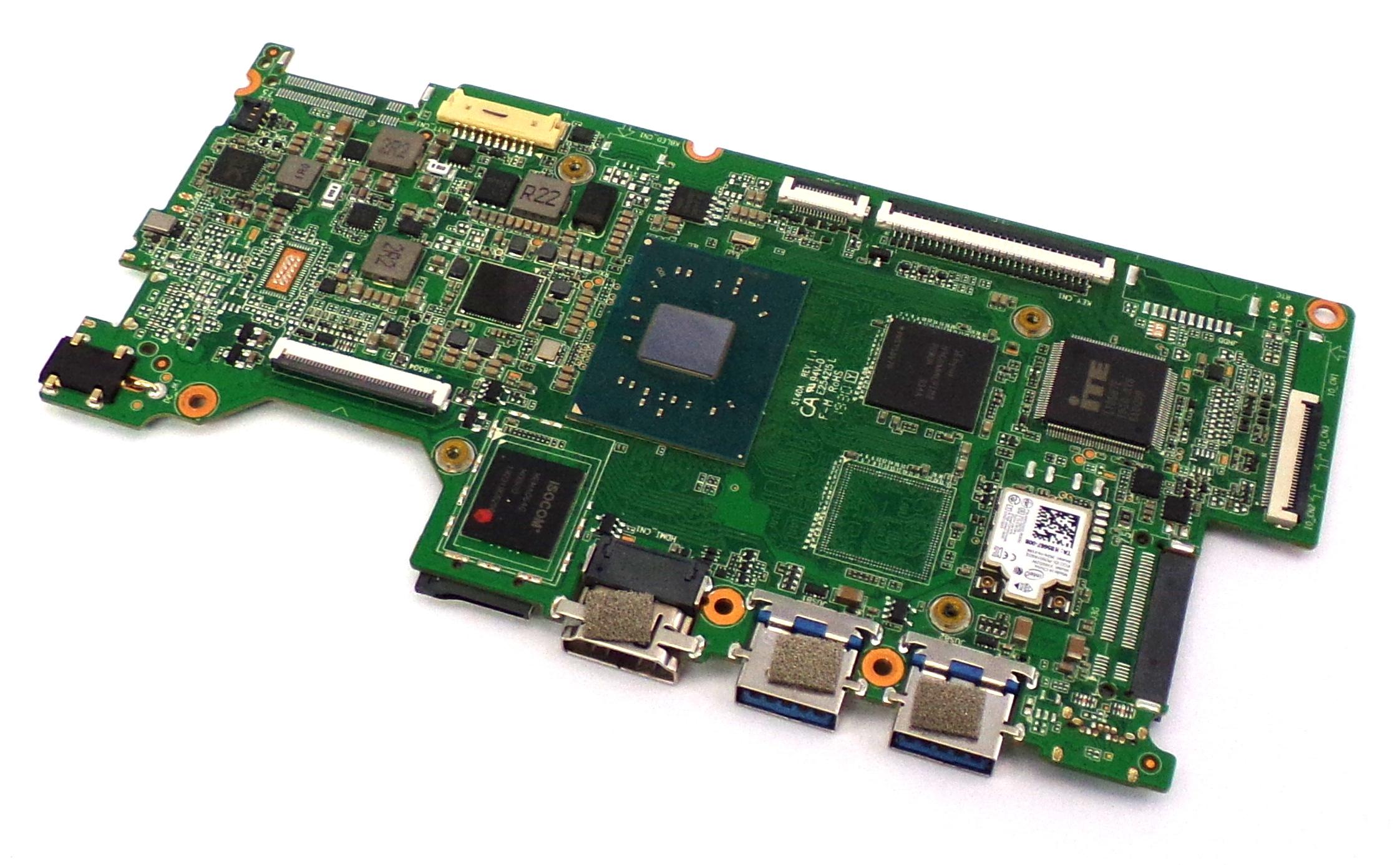 S140AR110 GeoBook 3X with Intel Celeron N4200 64GB eMMC Laptop Motherboard