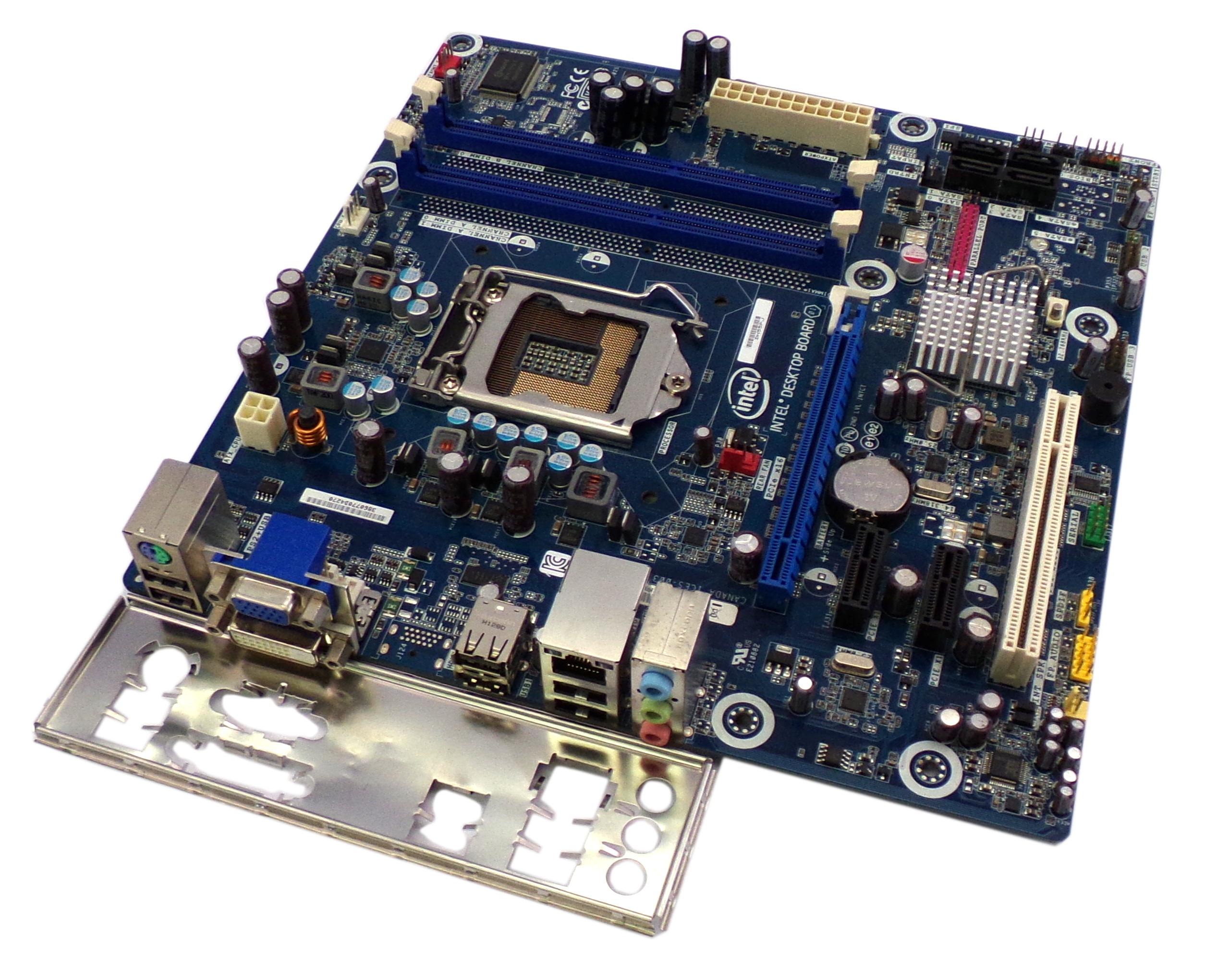 Intel E93812-303 DH55PJ DDR3 Socket LGA1156 Desktop Motherboard