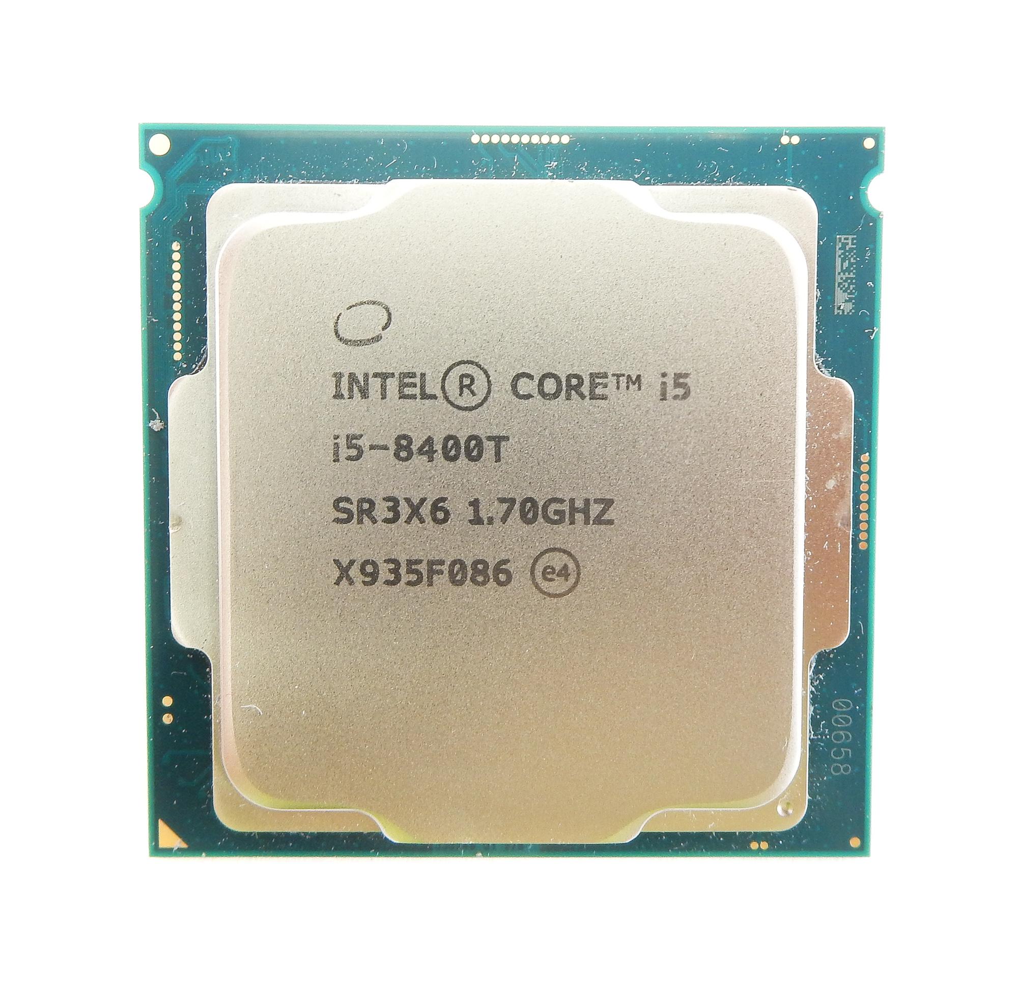 Intel SR3X6 Core i5 8400 6 Cores 1.7GHz LGA1151 Processor CPU