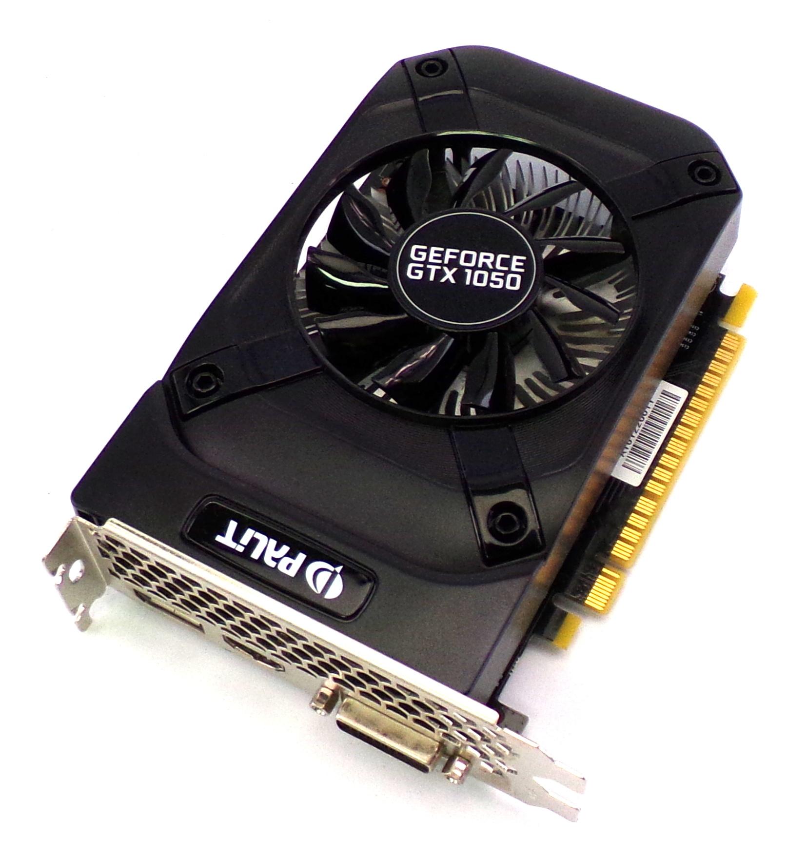 NE5105001841-1070F Palit GTX1050 Ti StormX 2GB DDR5 PCI-e 3 Graphics Card