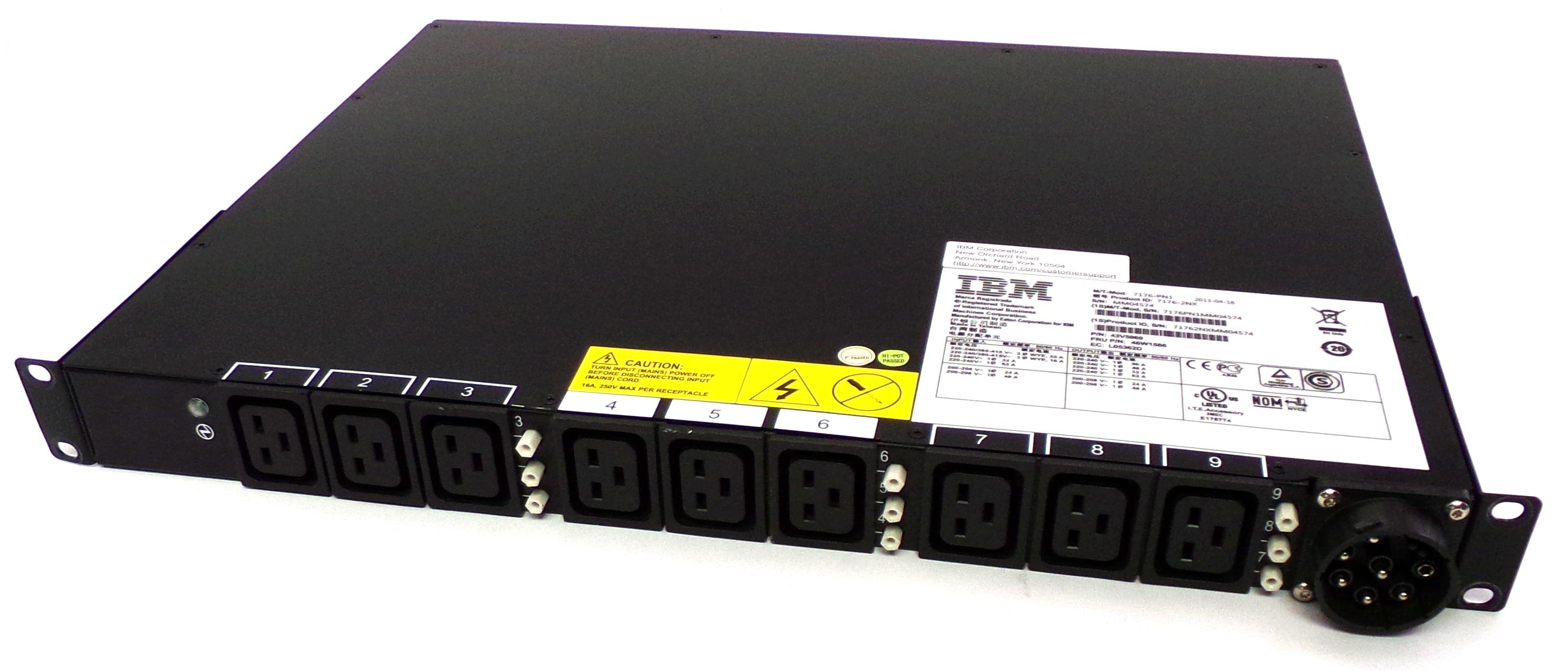 IBM 46W1586 Ultra Density Enterprise C19 / C13 PDU Module - Model: 7176-2NX
