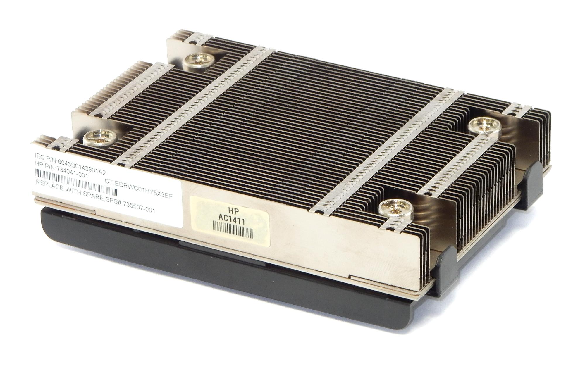 HP 735507-001 ProLiant DL360p Gen8 Srew Down Heatsink 734041-001