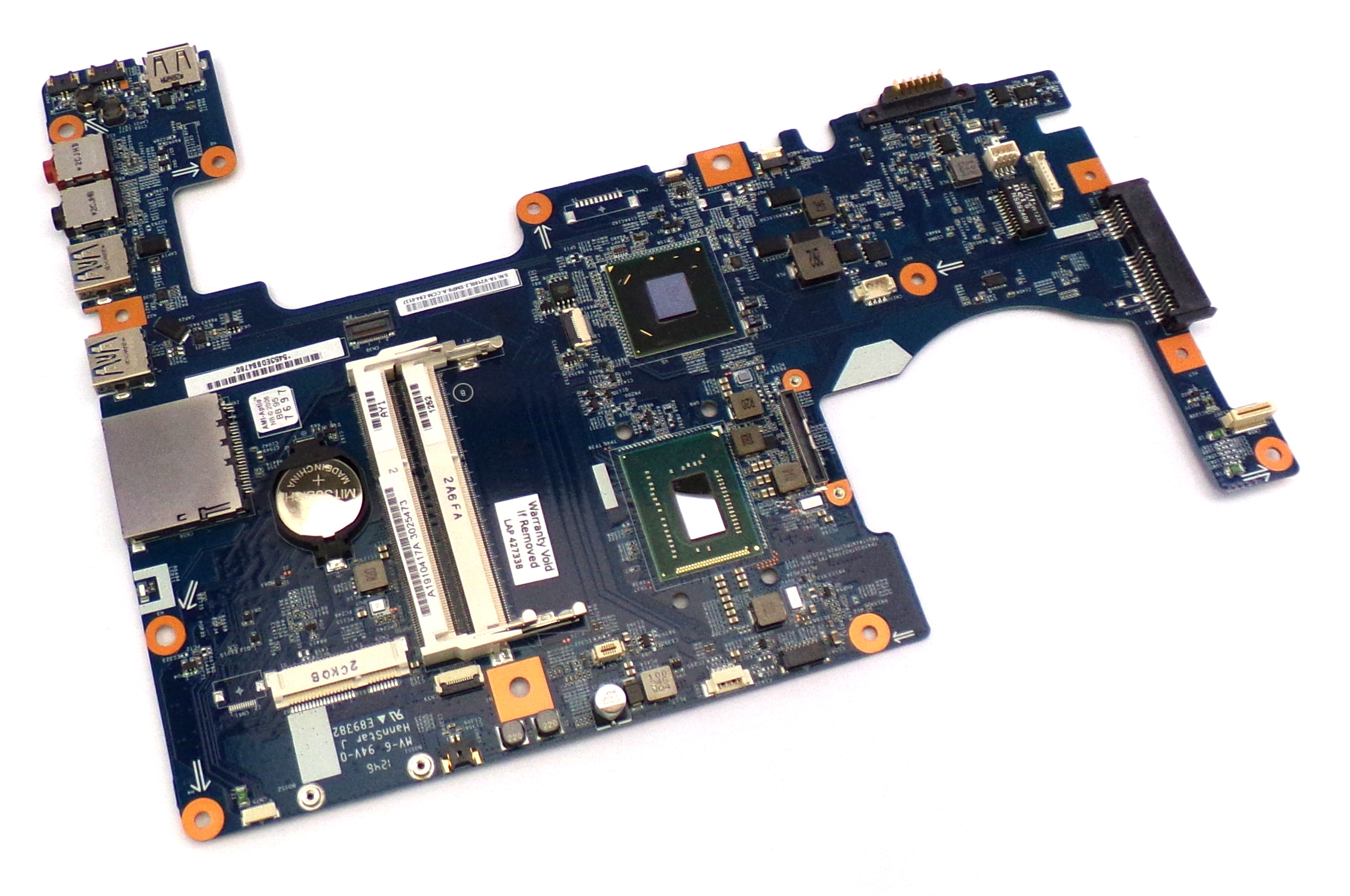 A1910417A Sony Tap 20 with Intel i5-3317U Laptop Motherboard