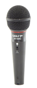 Eagle G158C Dynamic Microphone In Black