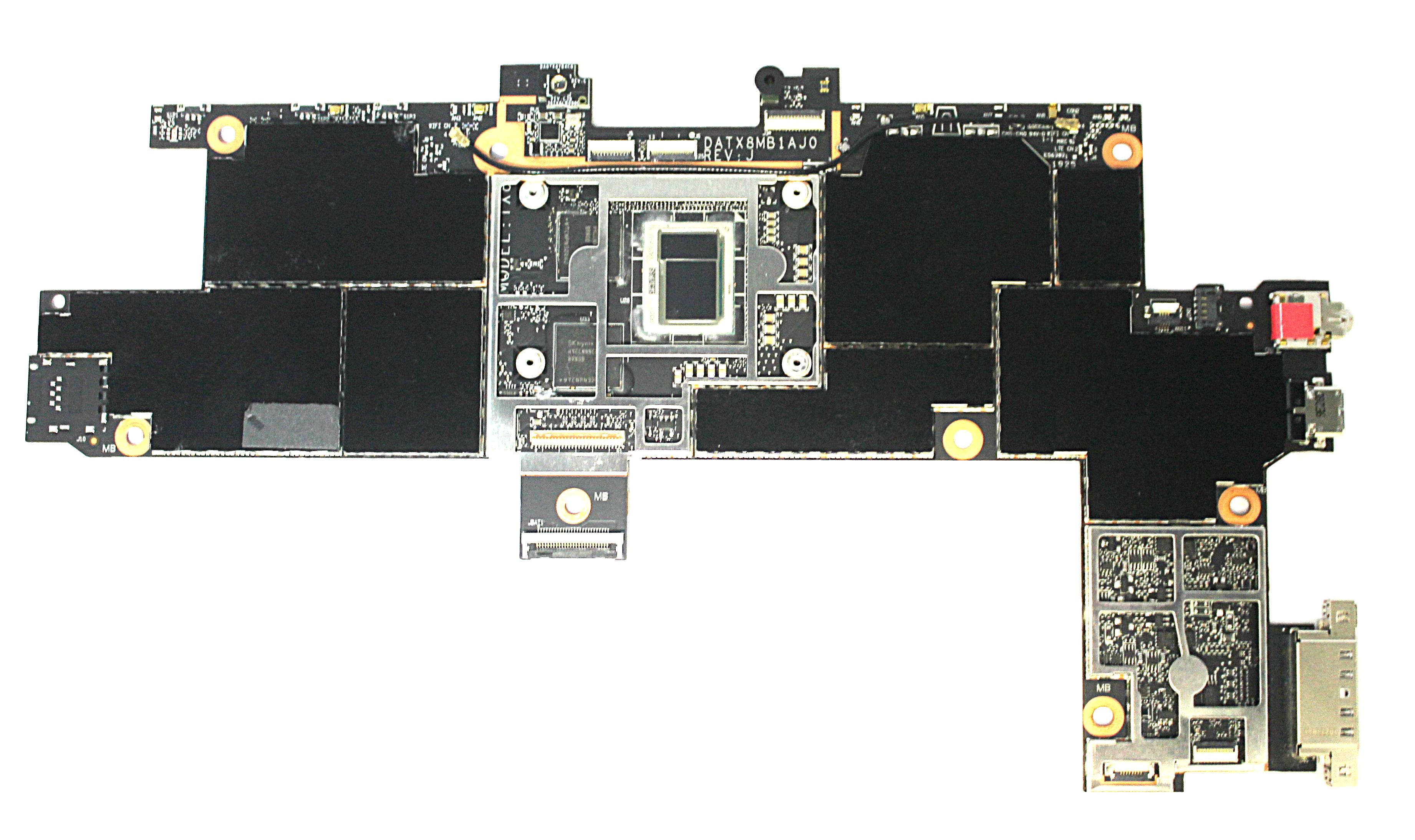 Surface Go - 1824/CPU 4415Y/8GB Ram/128GB eMMC/Main Board/DATX8MB1AJ0-REV:J