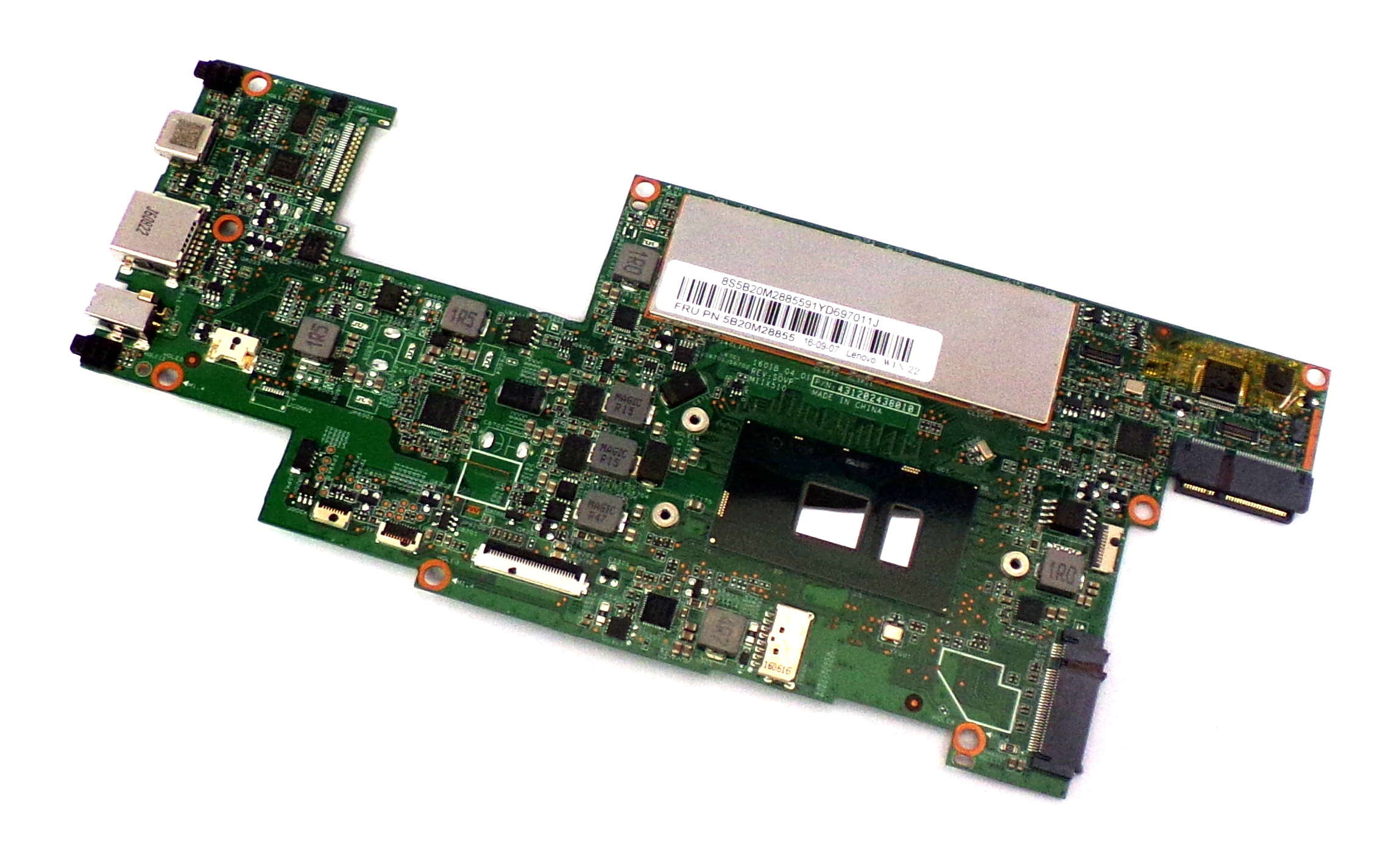 5B20M28855 Lenovo MIIX 510-12ISK with Intel i5-6200U 4GB RAM Laptop Motherboard