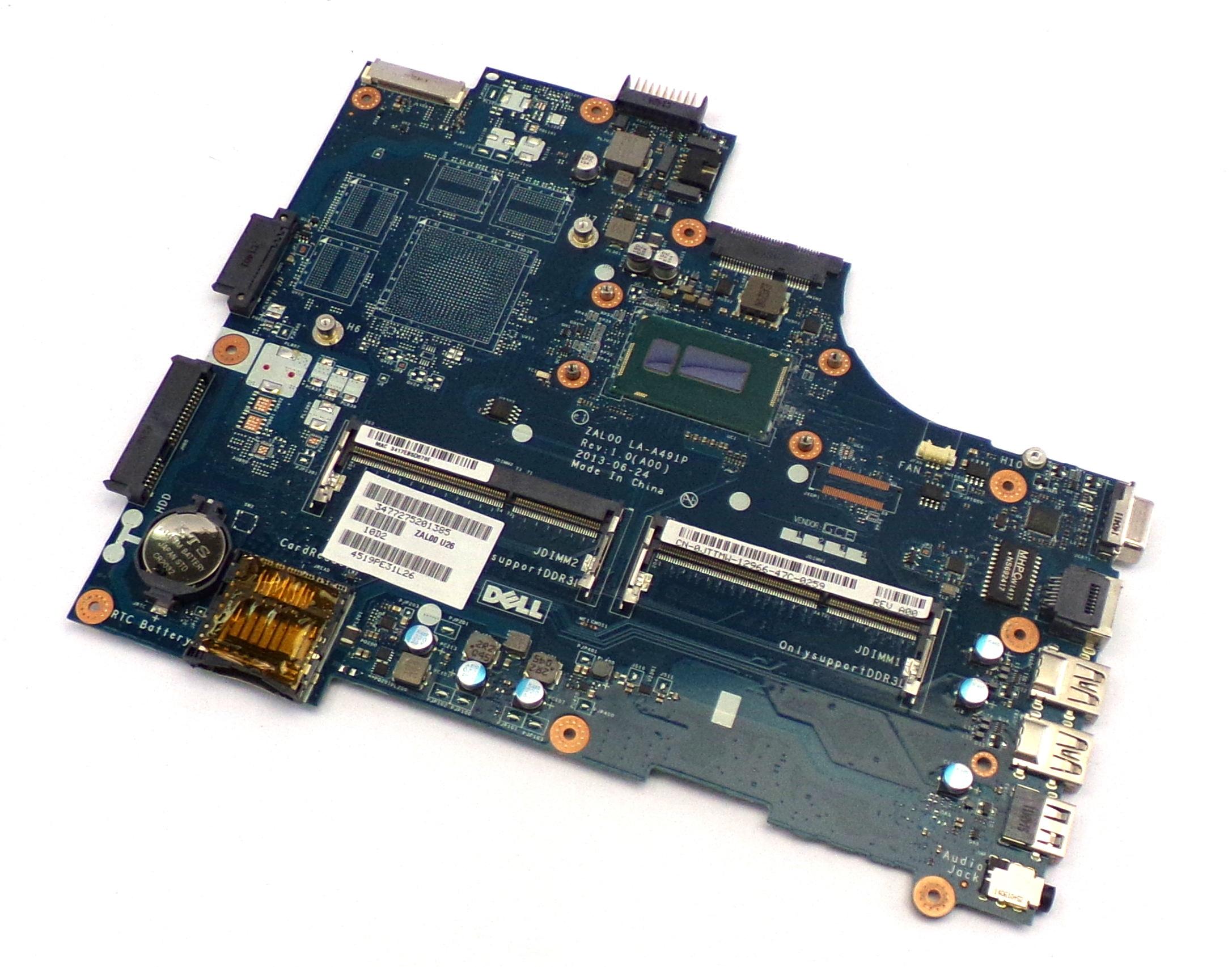 Dell JTTMW Latitude 3540 with Intel Core i5-4210U Laptop Motherboard