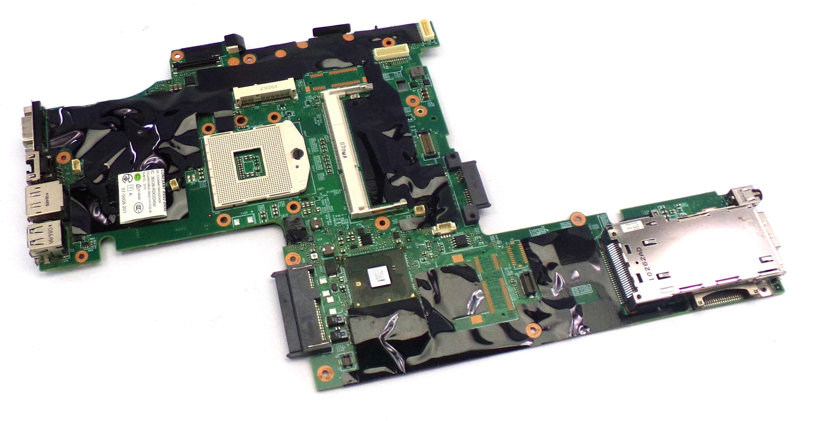 Lenovo 63Y1481 Thinkpad T410I Socket rPGA-989 Motherboard