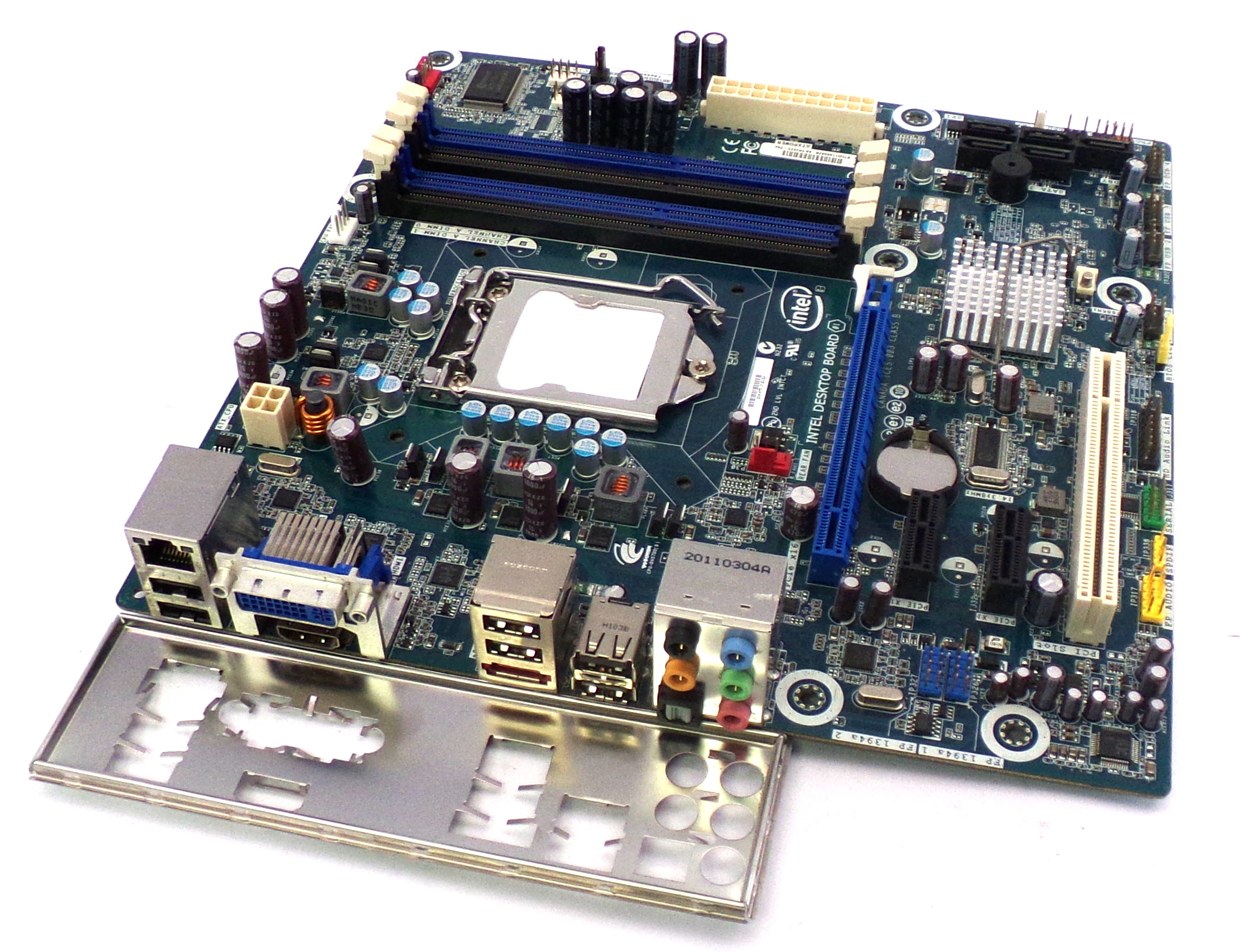 Intel DH57DD Socket LGA1156 DDR3-1333MHz Motherboard