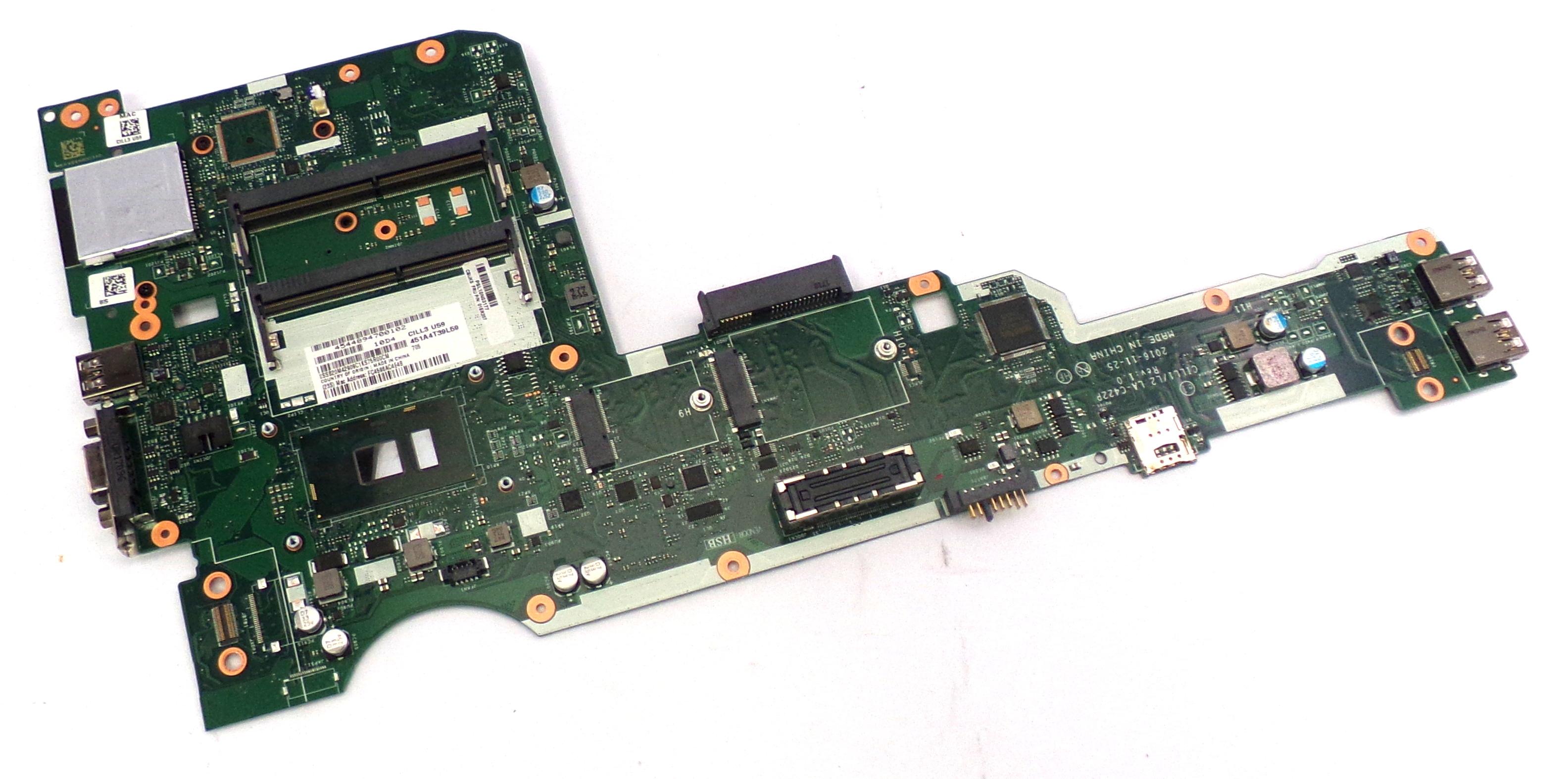 Lenovo 01ER207 ThinkPad L570 Intel Core i5-7200U Laptop Motherboard